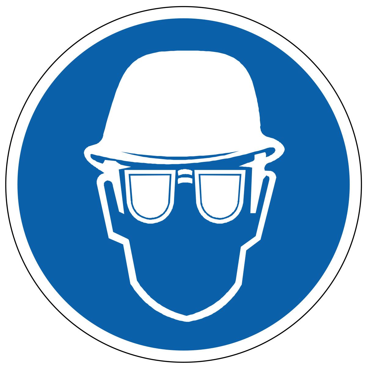 Port du casque et lunettes de protection obligatoire cb6612032b17