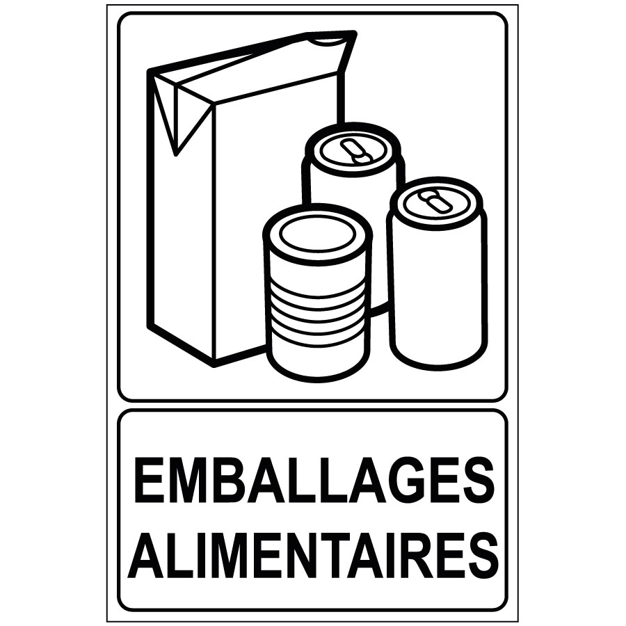Recyclage Emballages alimentaires